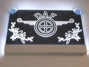 Bilde av DAF logo i pleksiglass - 24V